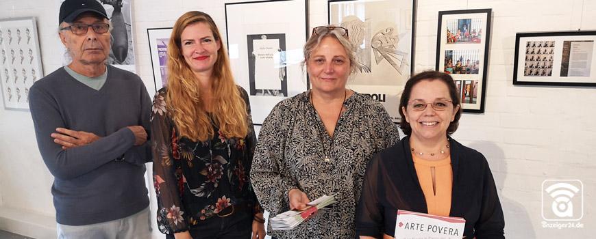 """Ausstellung """"Arte Povera"""" im Kunstraum Hilden"""