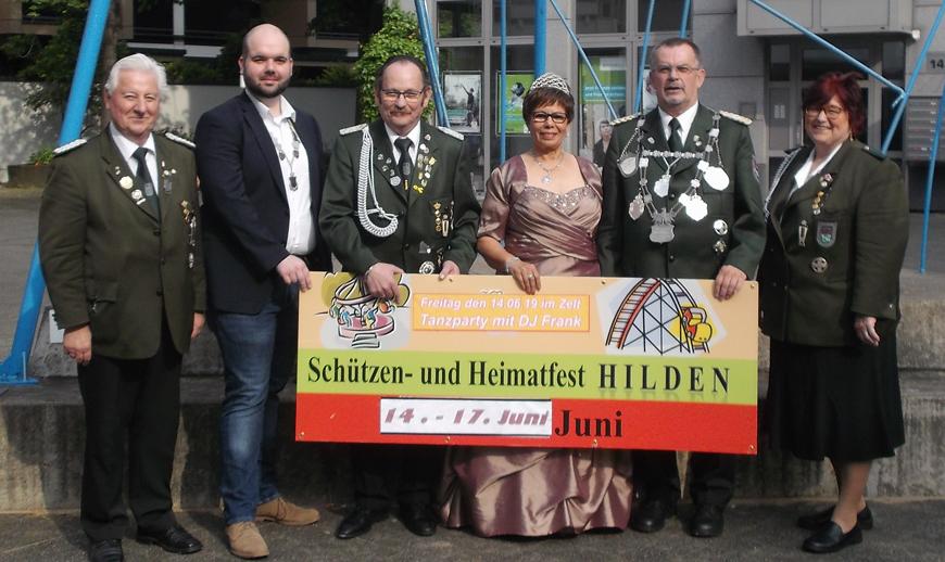 Hilden-Schuetzenfest-St-Sebastianus