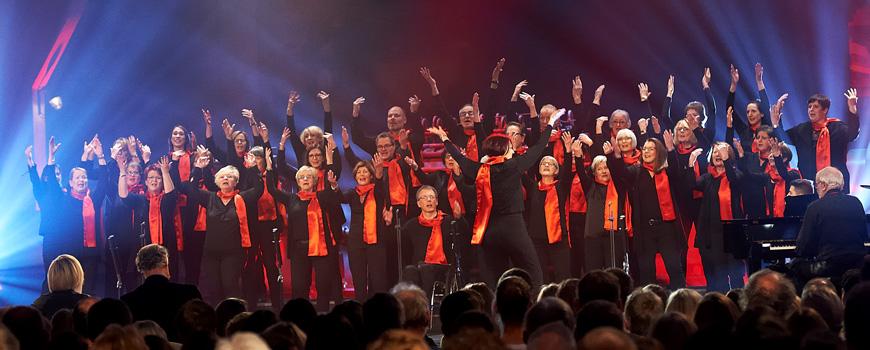 """Wird Joyful Voices aus Hilden """"Der beste Chor im Westen""""?"""