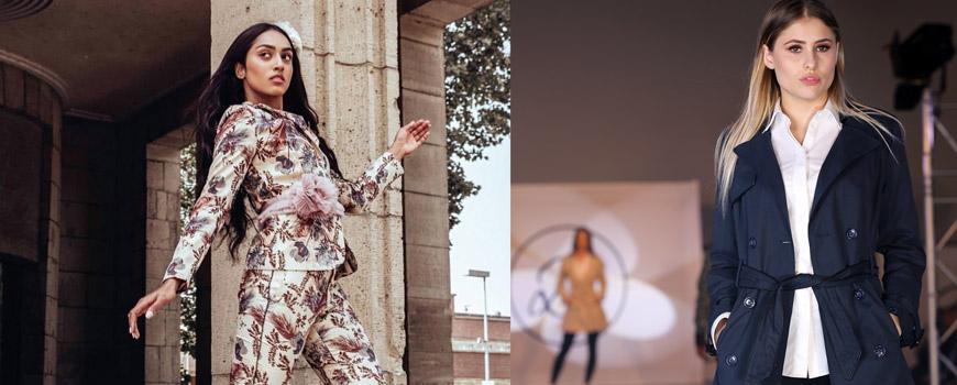 Befeni: Modenschau mit Top Model auf dem Marktplatz Langenfeld