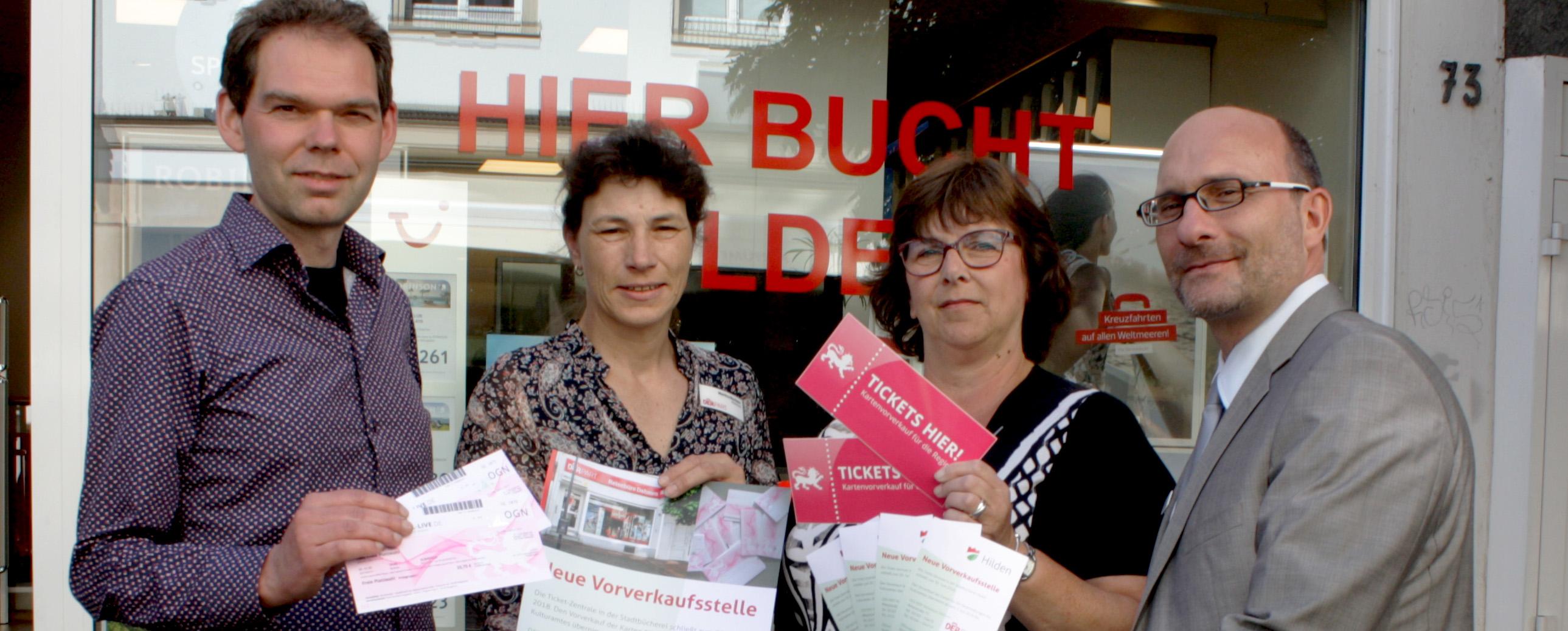 NeanderTicket: DERPART Reisebüro löst Ticketzentrale Hilden als Vorverkaufsstelle ab