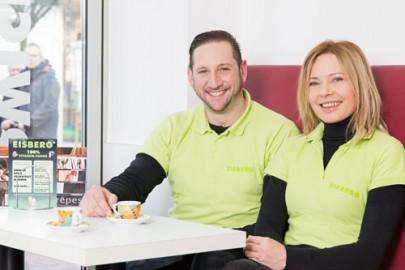 Das Frische-Team von Eisberg Cafe Hilden