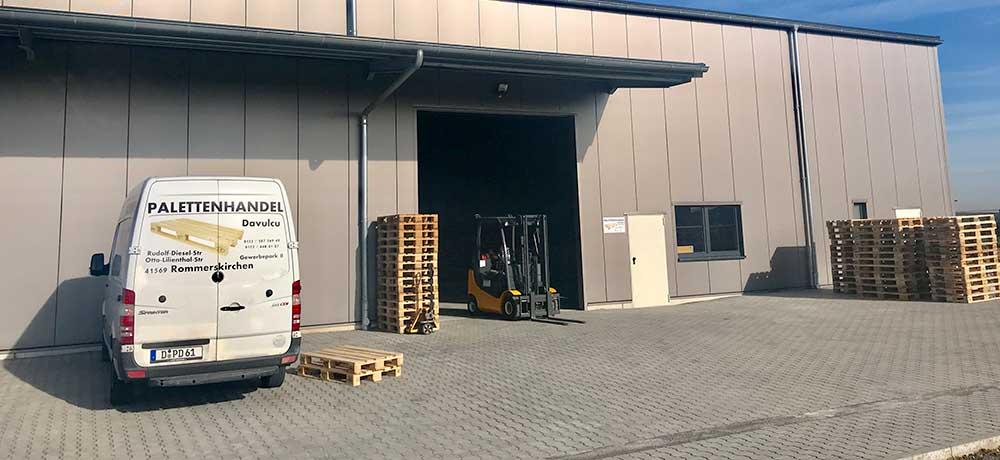 Palettenhandel Rommerskirchen
