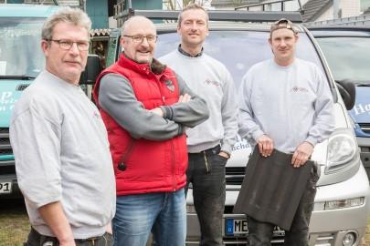 Das Team von Dachdecker Haukamp