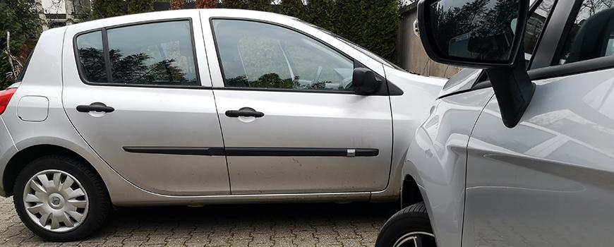 Falschparker Zuparken Eine Straftat