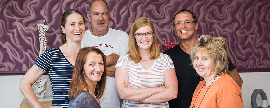 Physikalische Therapiepraxis Zucchet: Team vergrößert