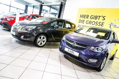 Autohaus Gierten ist Fachhändler für Opel
