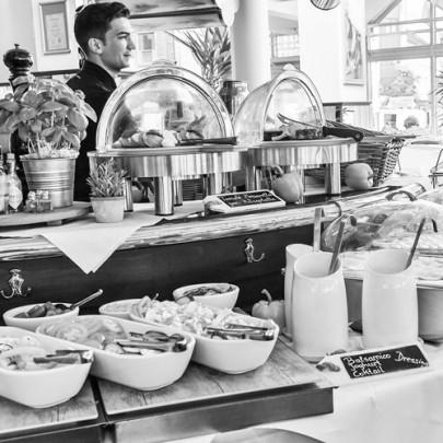 Ein 70-köpfiges Team im Café Extrablatt Hilden