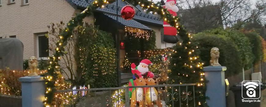 Wir suchen das glanzvollste Weihnachtshaus in Langenfeld