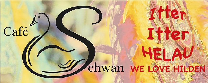 Karneval im neuen Café Schwan