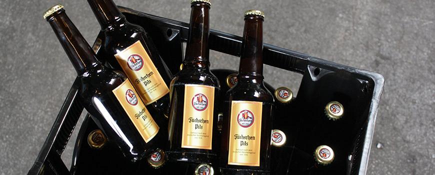 Römer Getränke Hilden führt Füchschen Pils