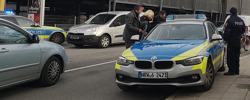 Widerstand geleistet: Drei Polizisten verletzt
