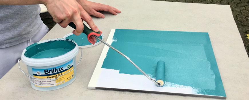 Maler Doege verwendet nachhaltige Produkte mit hohen Öko-Standards