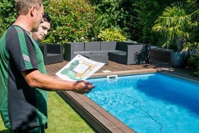 Schumacher Gartenbau Haan - Poolbau