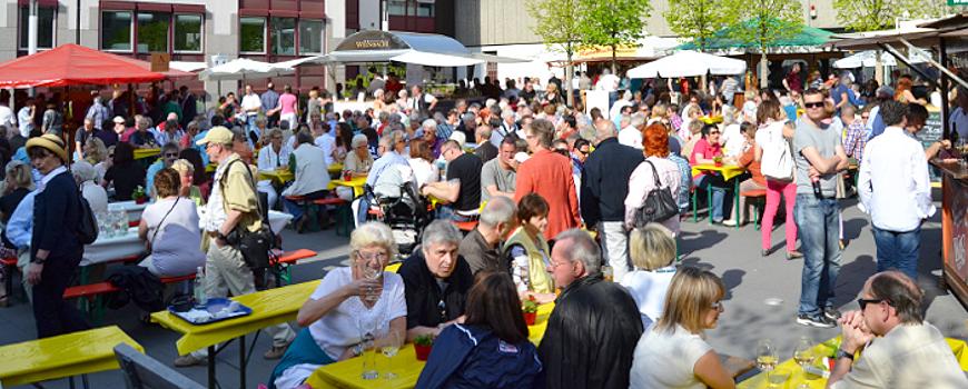 Weinfest, Hildener Frühling und Modenschau am ersten Mai-Wochenende
