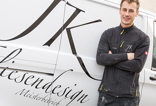 Fliesenlegermeister Julien Knöttgen