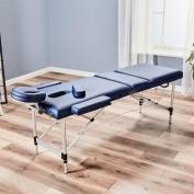 Alu-Massageliege, höhenverstellbar