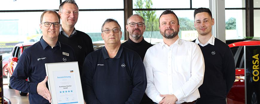 Autohaus Gierten GmbH in Hilden und Langenfeld zählt zu den besten Autohäusern in Deutschland