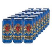 Wolters Pilsener 4,9 % vol 0,5 Liter Dose, 24er Pack