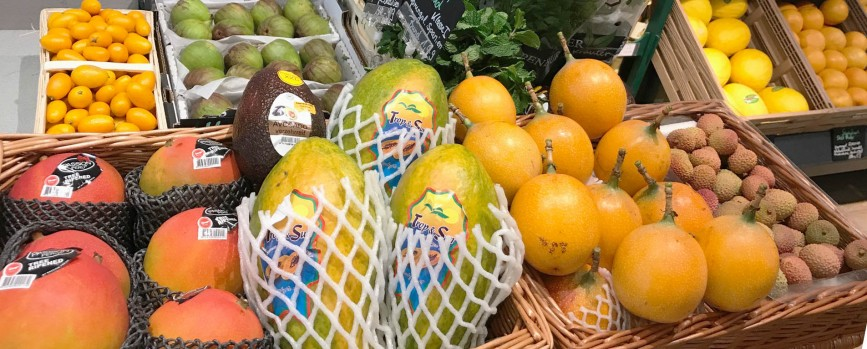 Exotische Früchte versüßen den Winter