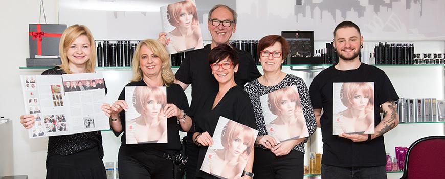 Coiffeur Team Taprogge Hilden: Jetzt mit Lifestyle-Magazin