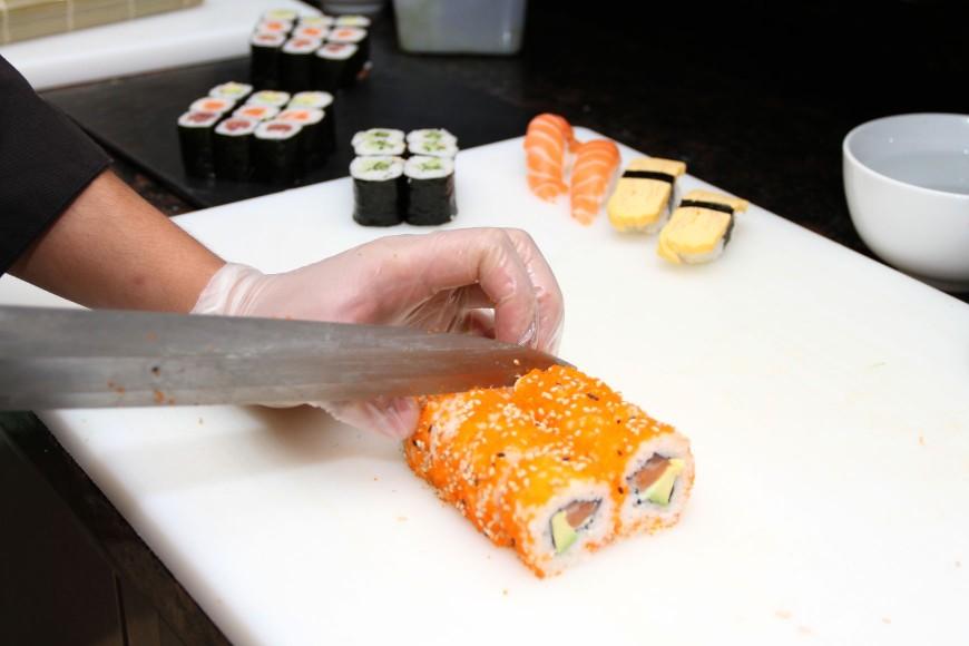 Hilden nam Sushi
