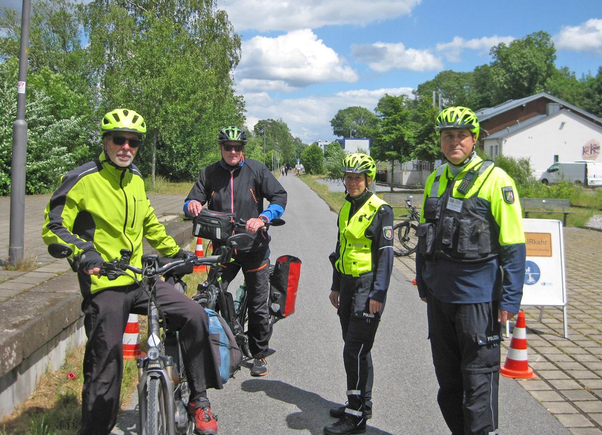 Polizei-Fahrrad-Pedelec