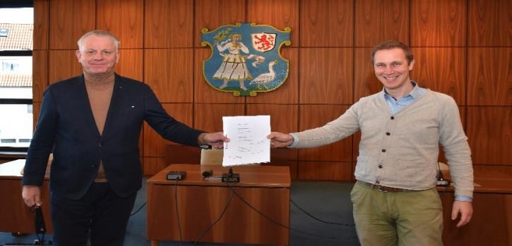Sinn im Neuen Monheimer Tor: Vertrag unterzeichnet