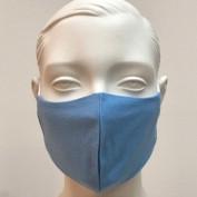 Gesichtsmaske blau