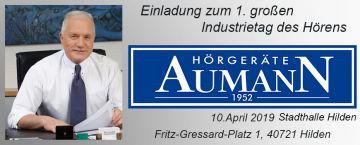 Hörgeräte Aumann: Auf dem Industrietag des Hörens in Hilden
