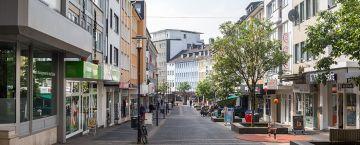 Einkaufen in Solingen Mitte: (Untere) Hauptstraße