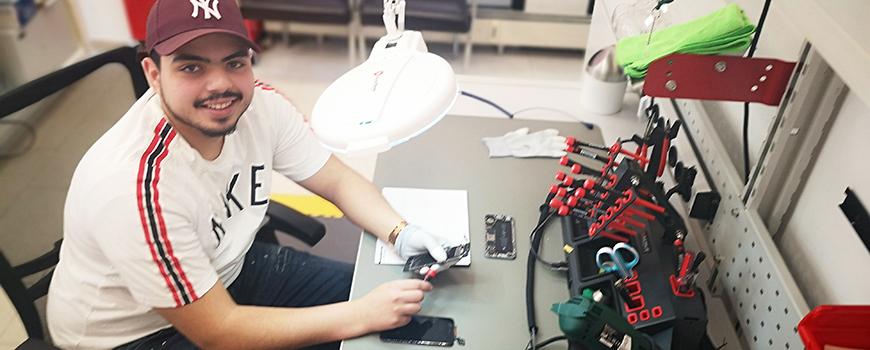 DoctorPhone: Die offene Werkstatt auf der Mühlenstraße