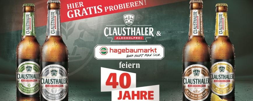 Hagebaumarkt lädt zur alkoholfreien Bierverköstigung ein