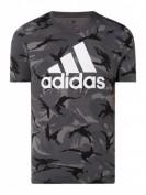 ADIDAS PERFORMANCE  T-Shirt mit Logo-Print  - Anthrazit
