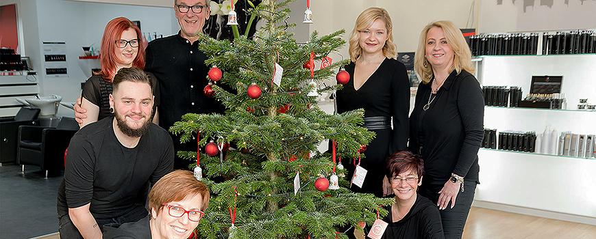 Friseur Hilden: Coiffeur Team Taprogge wünscht Frohes Neues Jahr