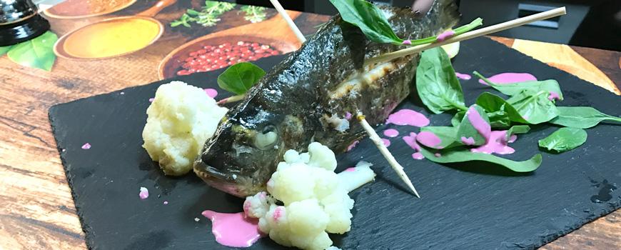 Fischgerichte bei Jamas