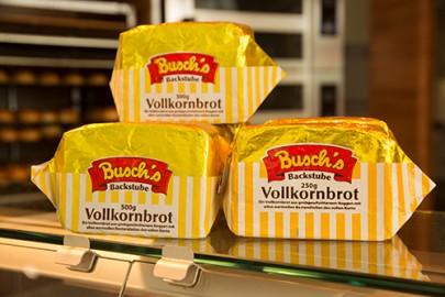 Leckeres und frisches Brot gibt es täglich bei Busch's Bäckerei