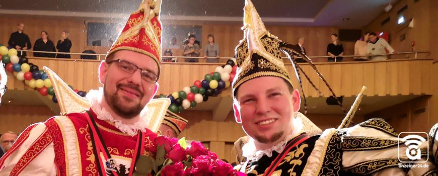 Sebastian und Tino: Zwei Prinzen – ein Paar für den Langenfelder Karneval