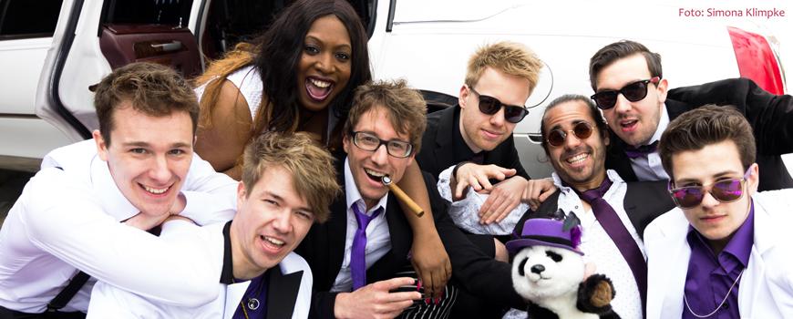 Mit Ramon Vallé, Wolfgang Haffner und Pimpy Panda