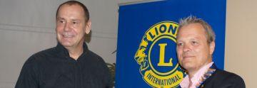 Lions Club Hilden: Wagenbauer Jacques Tilly zu Gast