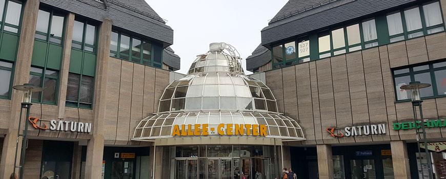 Einkaufen in Remscheid: Das Allee Center (I-Z)