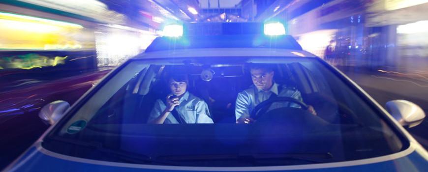 Radmuttern an Pkw VW Polo gelöst