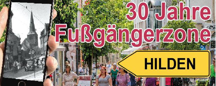30 Jahre Fußgängerzone Hilden