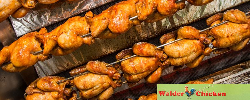 Drei Jahre Walder Chicken