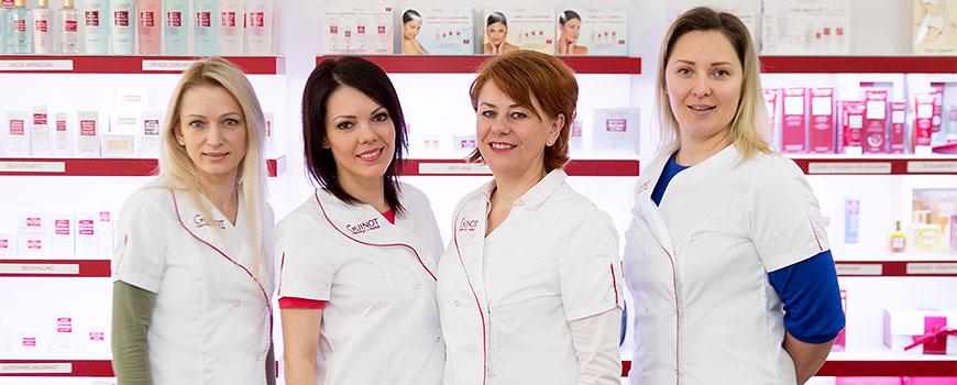 GUINOT Hilden: Beauty-Expertinnen in der Kirchhofstraße