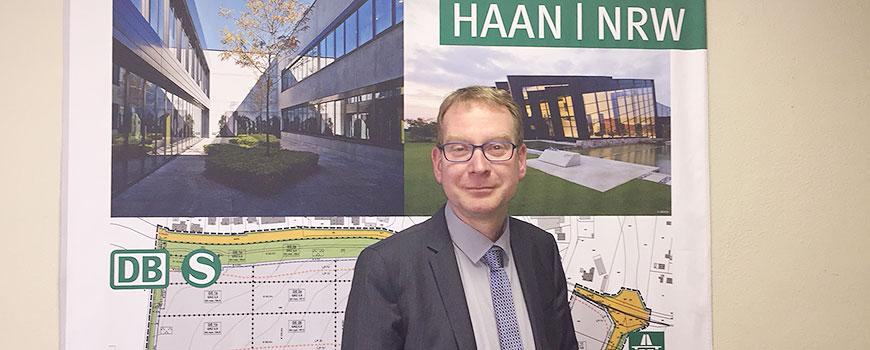 Dr. Jürgen Simon ist der neue Leiter der Stabsstelle Wirtschaftsförderung, Kultur und Tourismus