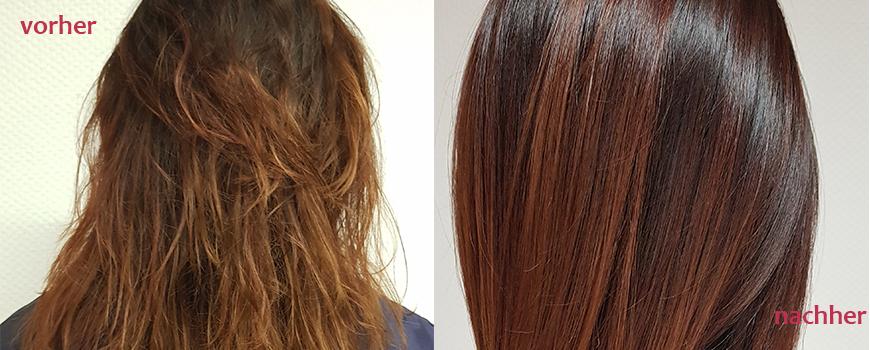 Biosthetique: Permanente Haarglättung und glattes Haar dank Keratin