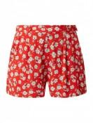 Pepe Jeans Liberty -  Shorts aus Viskose mit floralem Muster Modell 'Liberty' - Rot