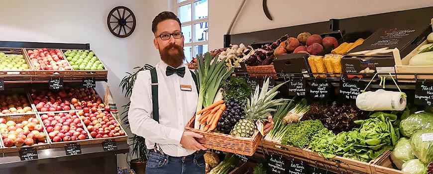 Neueröffnung: Obst und Gemüse gibt's frisch bei Grünfutter