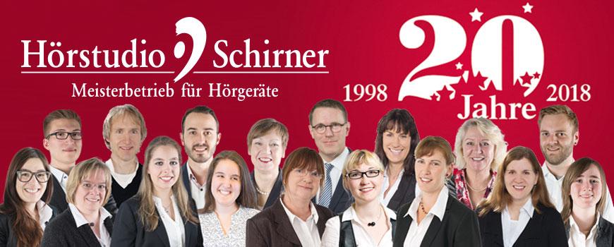 Hörstudio Schirner: Hörexperten begeistern seit 20 Jahren